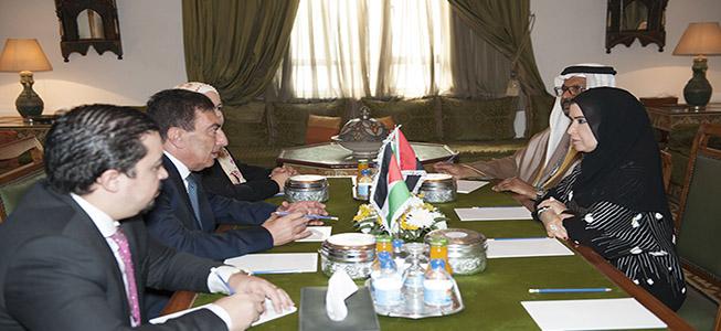 أمل القبيسي تبحث مع رؤساء برلمانات مصر والأردن والجزائر والسودان سبل تعزيز عمل المؤسسات البرلمانية العربية في مواجهة التحديات والتطورات التي تشهدها المنطقة