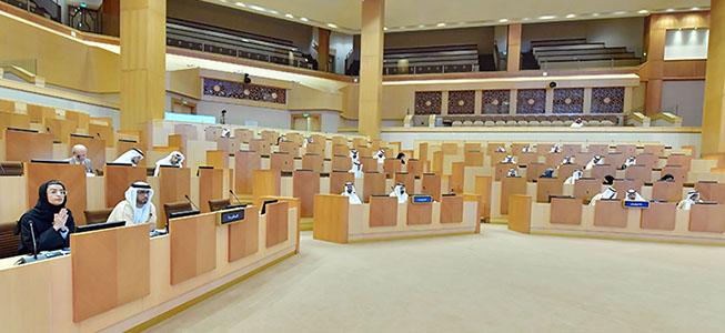 المجلس الوطني الاتحادي يوافق على مشروع قانون اتحادي بشأن الآثار ويوجه خمسة أسئلة إلى ممثلي الحكومة