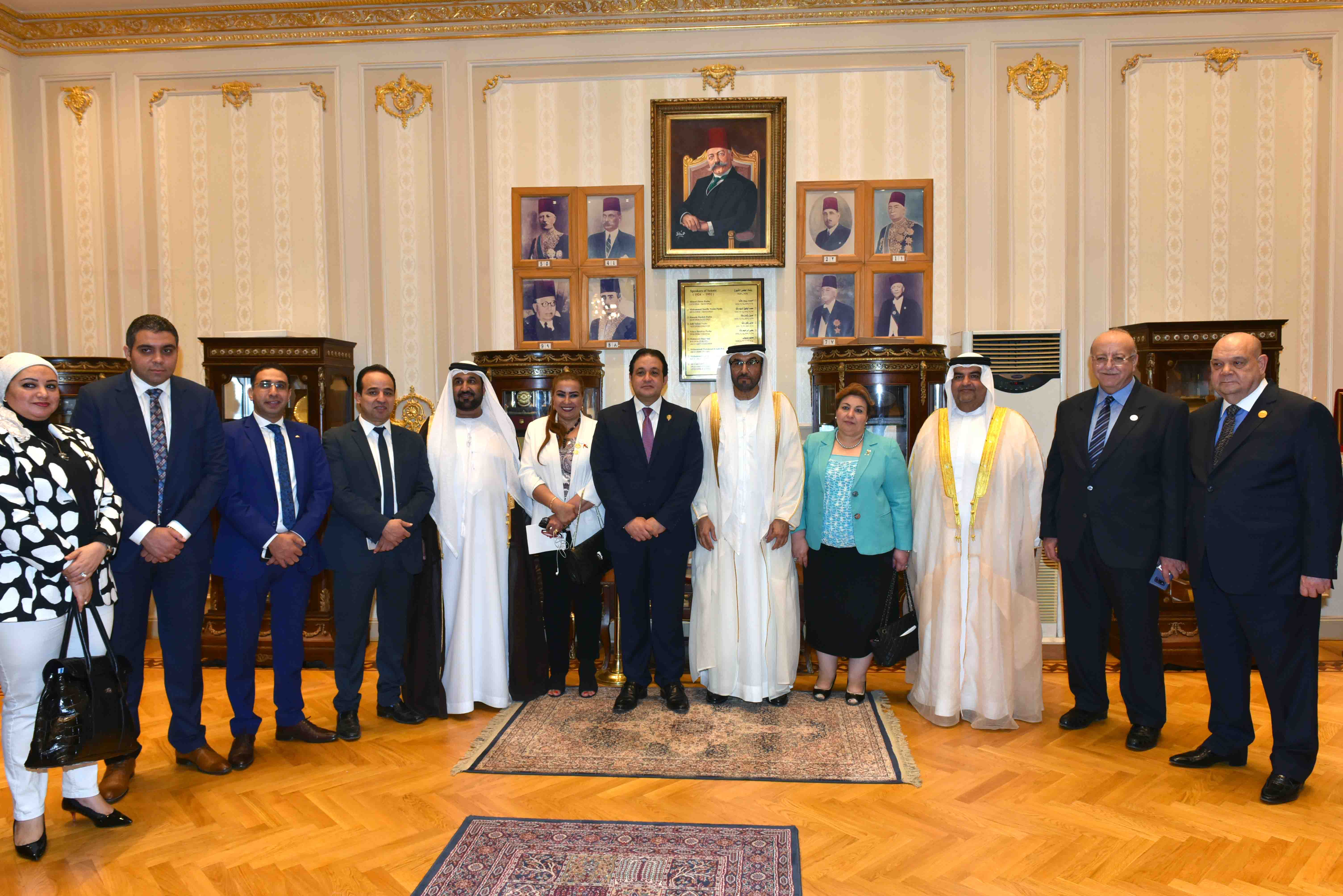 لجنة الصداقة البرلمانية الإماراتية المصرية تبحث سبل تعزيز علاقات التعاون في شتى المجالات