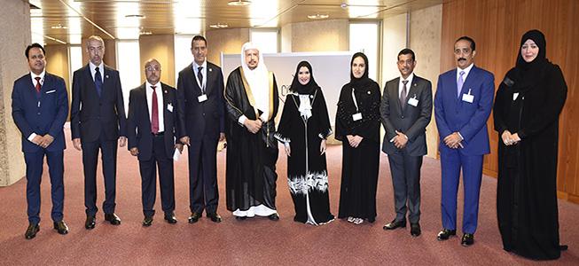 أمل القبيسي ورئيس مجلس الشورى السعودي: العلاقات بين البلدين مثالا ونموذجا للعلاقات الأخوية.